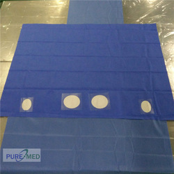 high quality disposable surgical drape laparotomy pack
